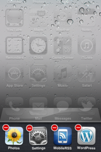 quit recent apps